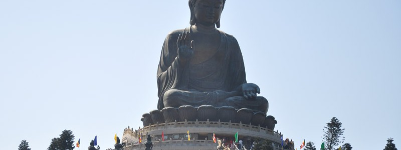 Гонконг — The Big Buddha and Po Lin Monastery