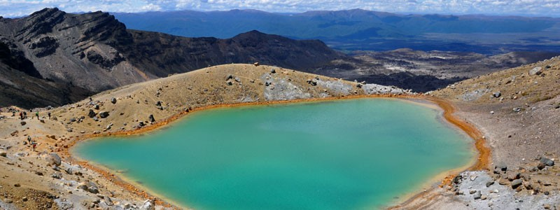 Новая Зеландия — Tongariro Alpine Crossing